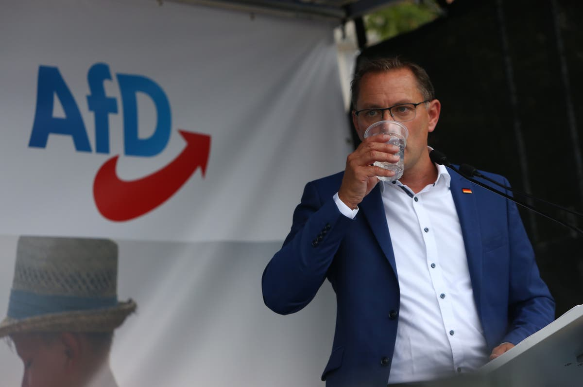 Far-right leader in Germany is caught out by child interviewer