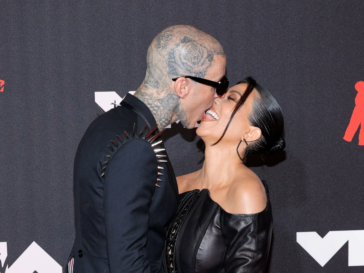 Kourtney Kardashian confirms engagement to Blink-182's Travis Barker