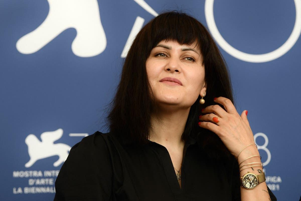 Afghan film director Sahraa Karimi dreams to 'go back' to Afghanistan