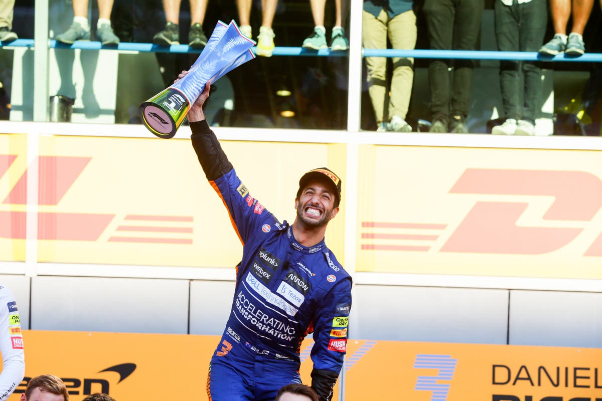 Daniel Ricciardo 'never lost faith' despite difficult McLaren season