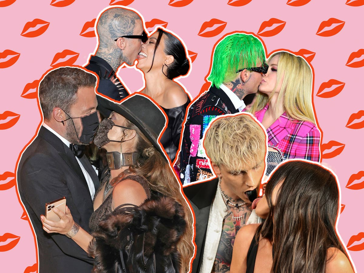 The celebrity PDA is back