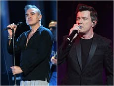 Morrissey mocked after Rick Astley and Blossoms team up for The Smiths performances