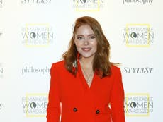 The One Show's Angela Scanlon rushed to hospital after 'serious' car crash