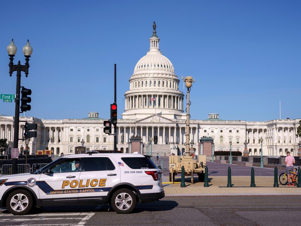 Le Congrès a dit d'éviter le rassemblement «Justice pour J6» alors que les organisateurs interdisent l'équipement de Trump