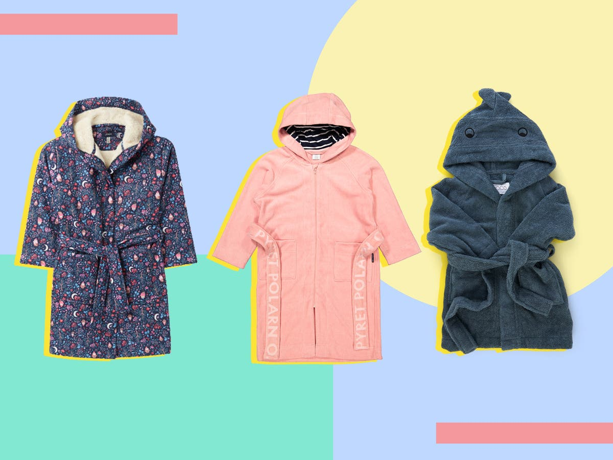 The snuggliest of them all: Best kids' dressing gowns for the colder months