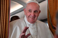 Pope Francis defends Joe Biden from calls to deny communion over abortion stance