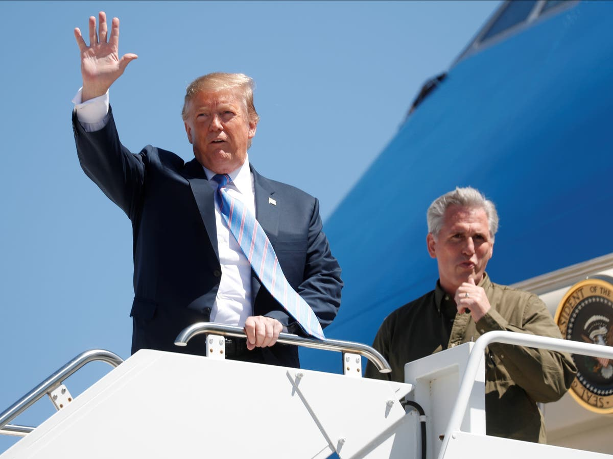 McCarthy 'pretended to be my best friend', Trump reportedly moaned