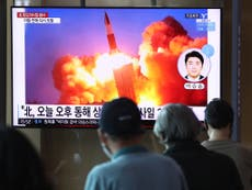 South Korea launches its first ballistic missile from submarine