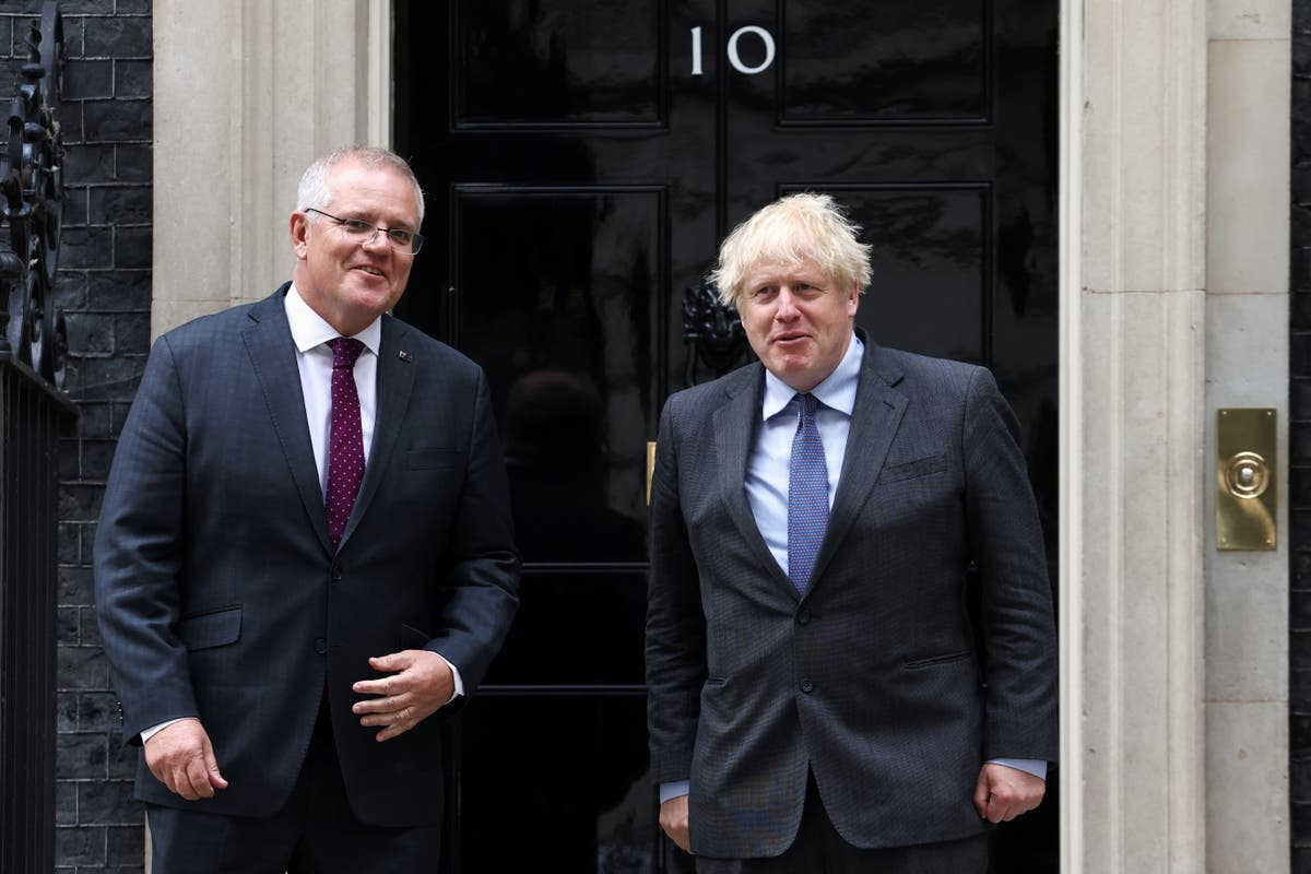 Britain forms nuclear alliance with Australia and US to curb China
