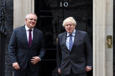 Britain joins defence pact with Australia and US to curb China