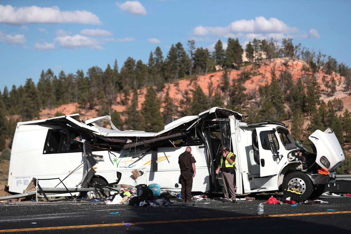 Tourists from China sue Utah over deadly tour bus crash