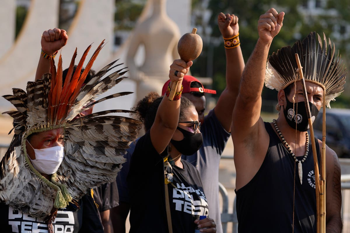 Brazil's top court suspends vote on Indigenous land rights