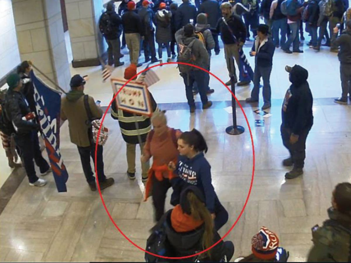 Mother and daughter duo charged with storming the Capitol