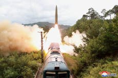 North Korea says it successfully fired 'railway-borne' ballistic missiles
