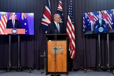 Le Premier ministre australien rejette les critiques chinoises sur le sous-accord nucléaire