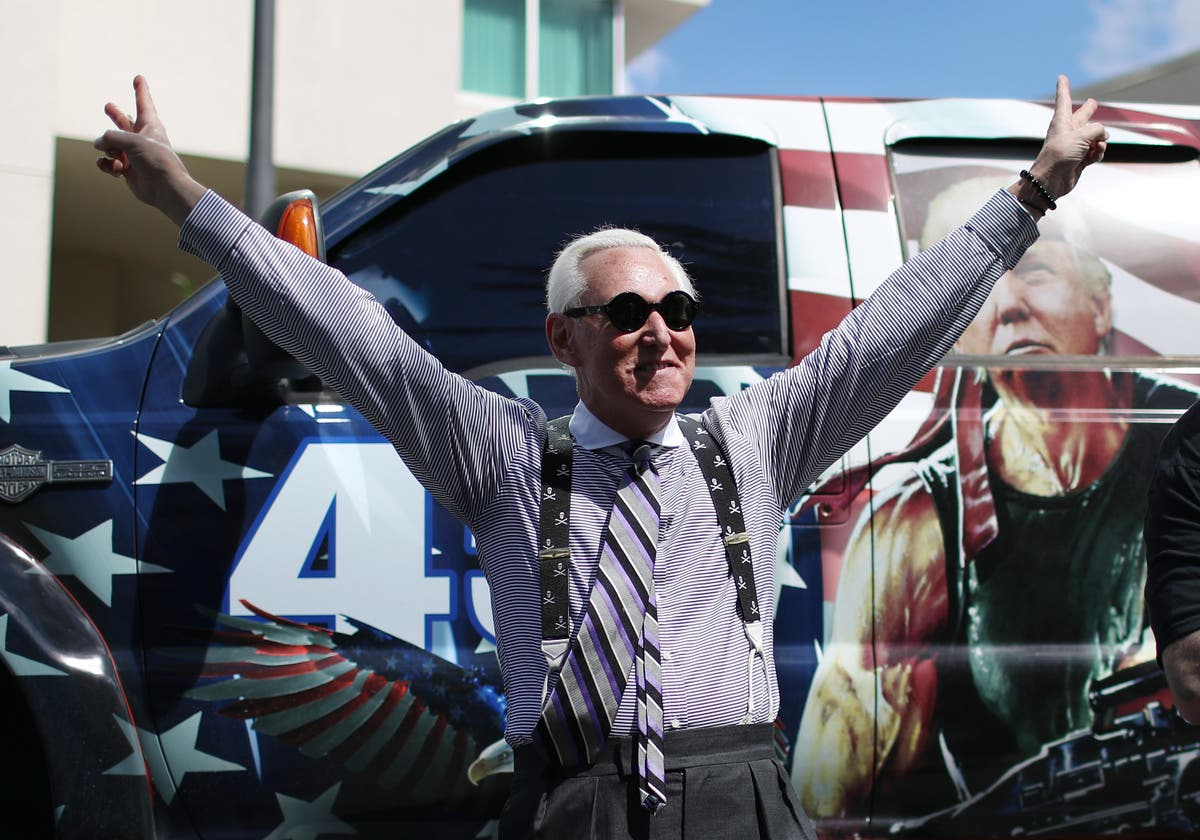 Roger Stone interrupted during interview to be served Capitol riot lawsuit papers