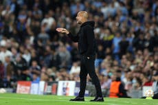 'We need the people': Pep Guardiola urges more Man City fans to come to the Etihad