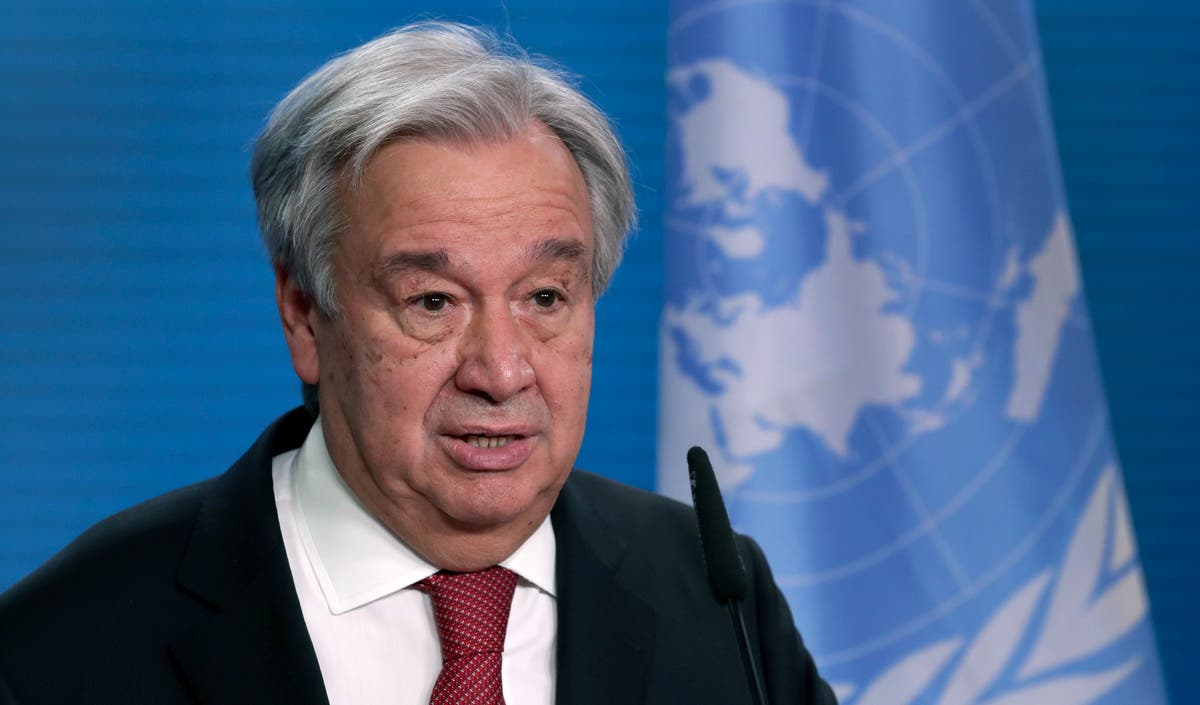Climate crisis alarm 'ringing at fever pitch', UN secretary general  warns