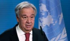 Klimaatkrisis alarm 'lui teen koors', VN se sekretaris -generaal waarsku