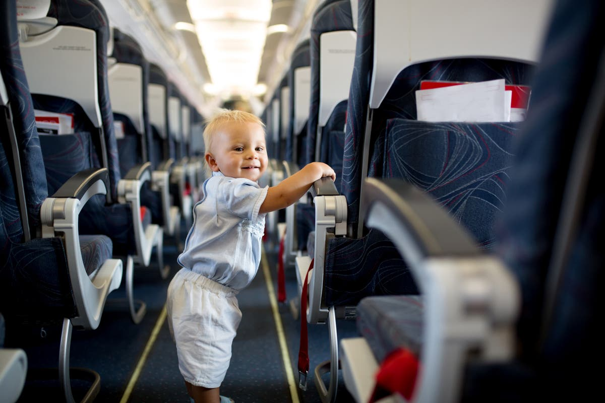 Airline tool shows you where babies are sitting on your plane