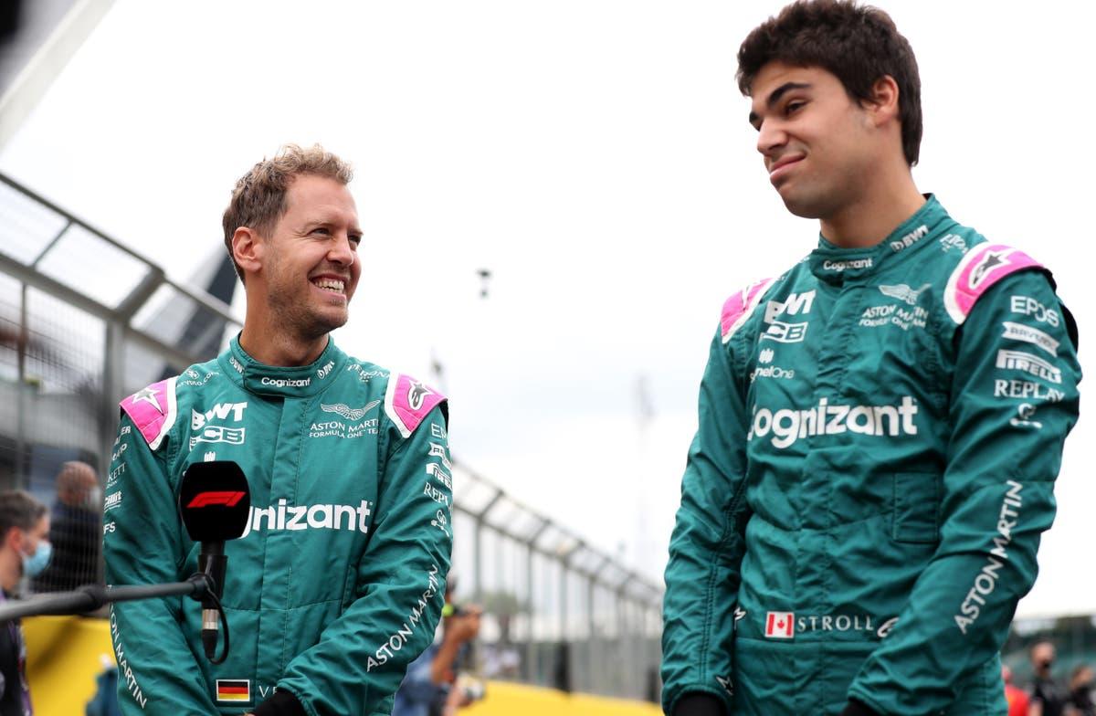 Sebastian Vettel and Lance Stroll retained at Aston Martin for 2022 季節