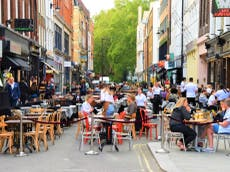 Alfresco dining to become permanent feature on some central London streets