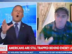Un animateur de Newsmax explose contre un vétéran américain qui tente de sauver des Américains d'Afghanistan