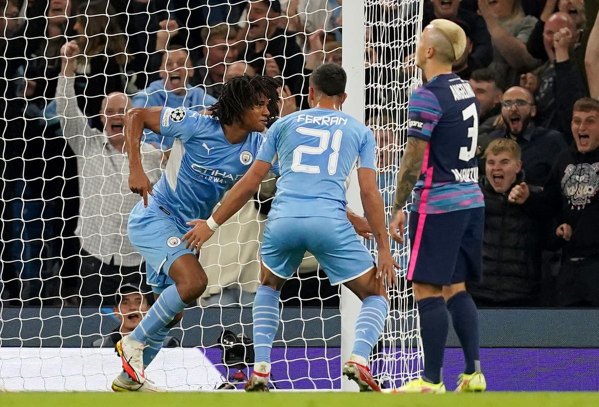 Nathan Ake dedicates Leipzig goal to his father who died during match