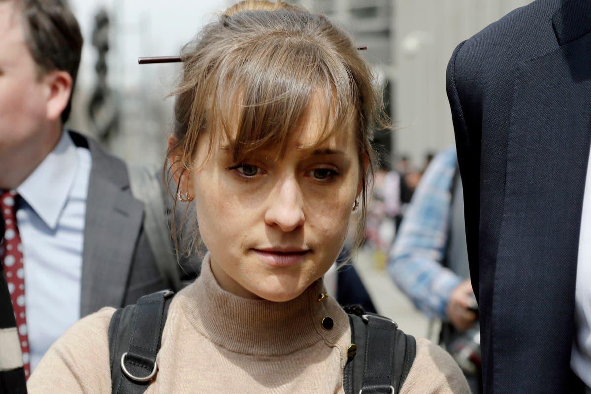 TV actor Allison Mack enters prison in NXIVM sex slave case
