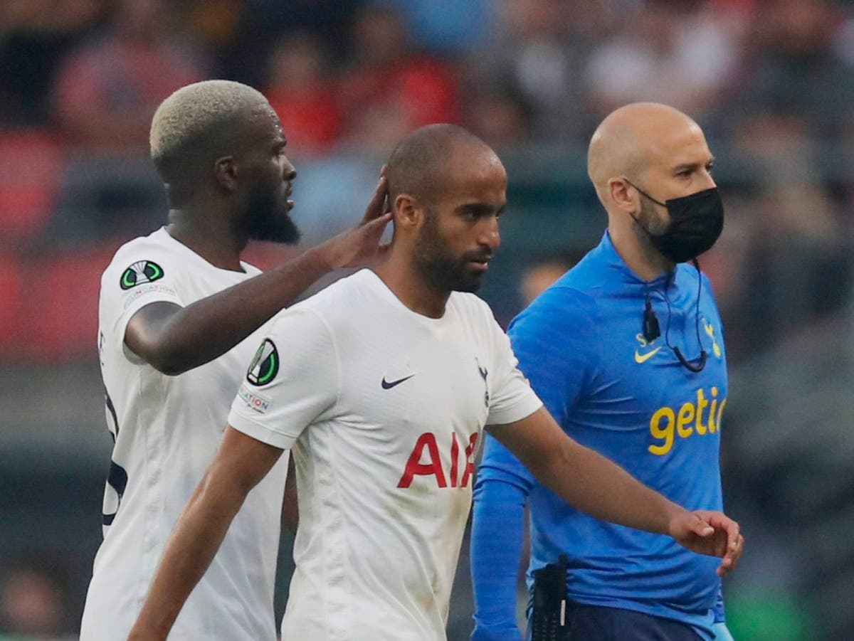 Tottenham fight back to salvage draw at Rennes as injury worries mount