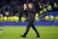 Brendan Rodgers says Leicester have 'a lot to be happy about' despite blowing lead