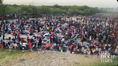 Thousands of Haitian migrants are sleeping under a Texas bridge in squalid conditions awaiting Border Patrol action