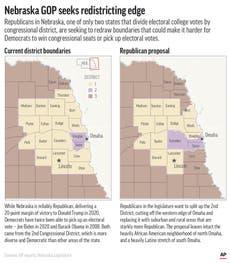 One in 538: Map sparks fight over electoral vote in Nebraska