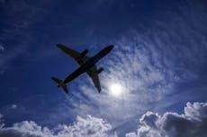 Man in garden 'splattered by sewage dropped by plane flying over Windsor'