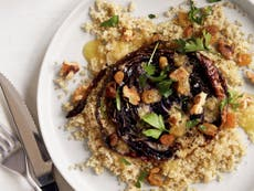 Roasted cabbage is the star of the show in this vegetarian Polish dish