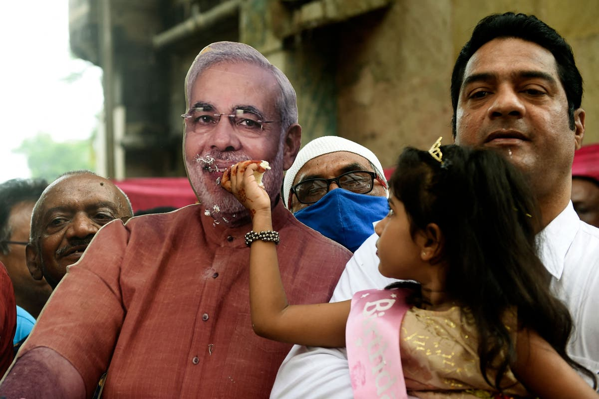 India vaccinates 22m in a day in 'birthday gift' for PM Modi