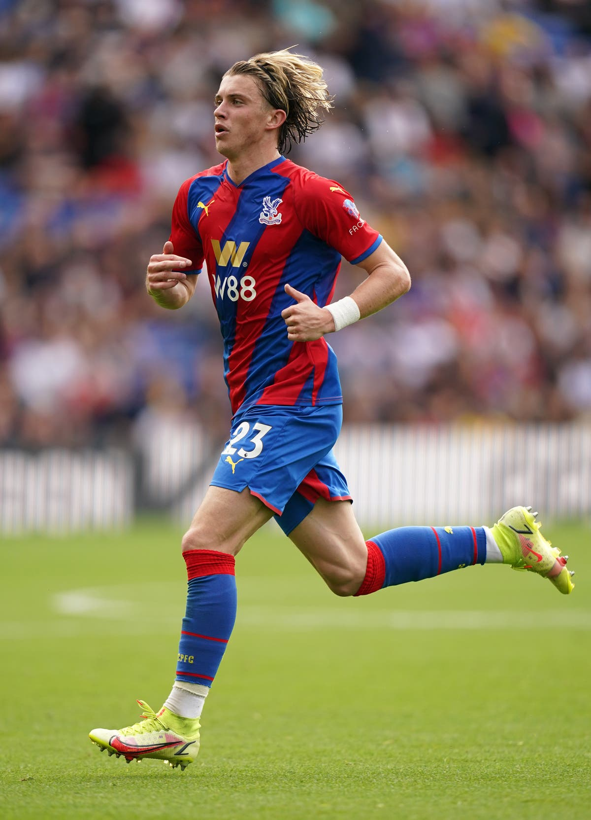 Conor Gallagher not quite ready for England call-up – Crystal Palace boss Vieira