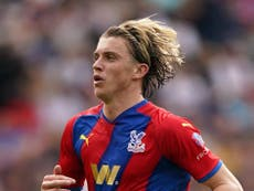 Conor Gallagher not quite ready for England call-up,  claims Crystal Palace boss Patrick Vieira