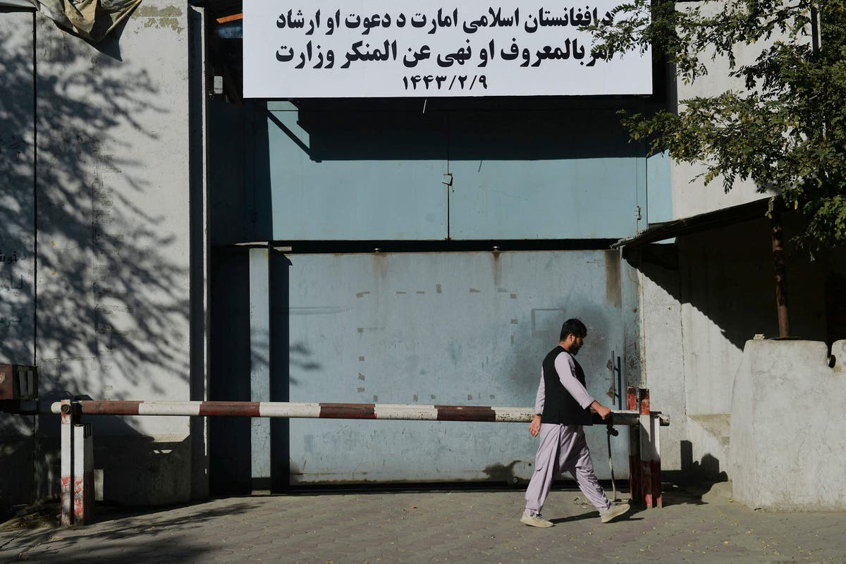 Taliban rename women's ministry as office for group's moral police