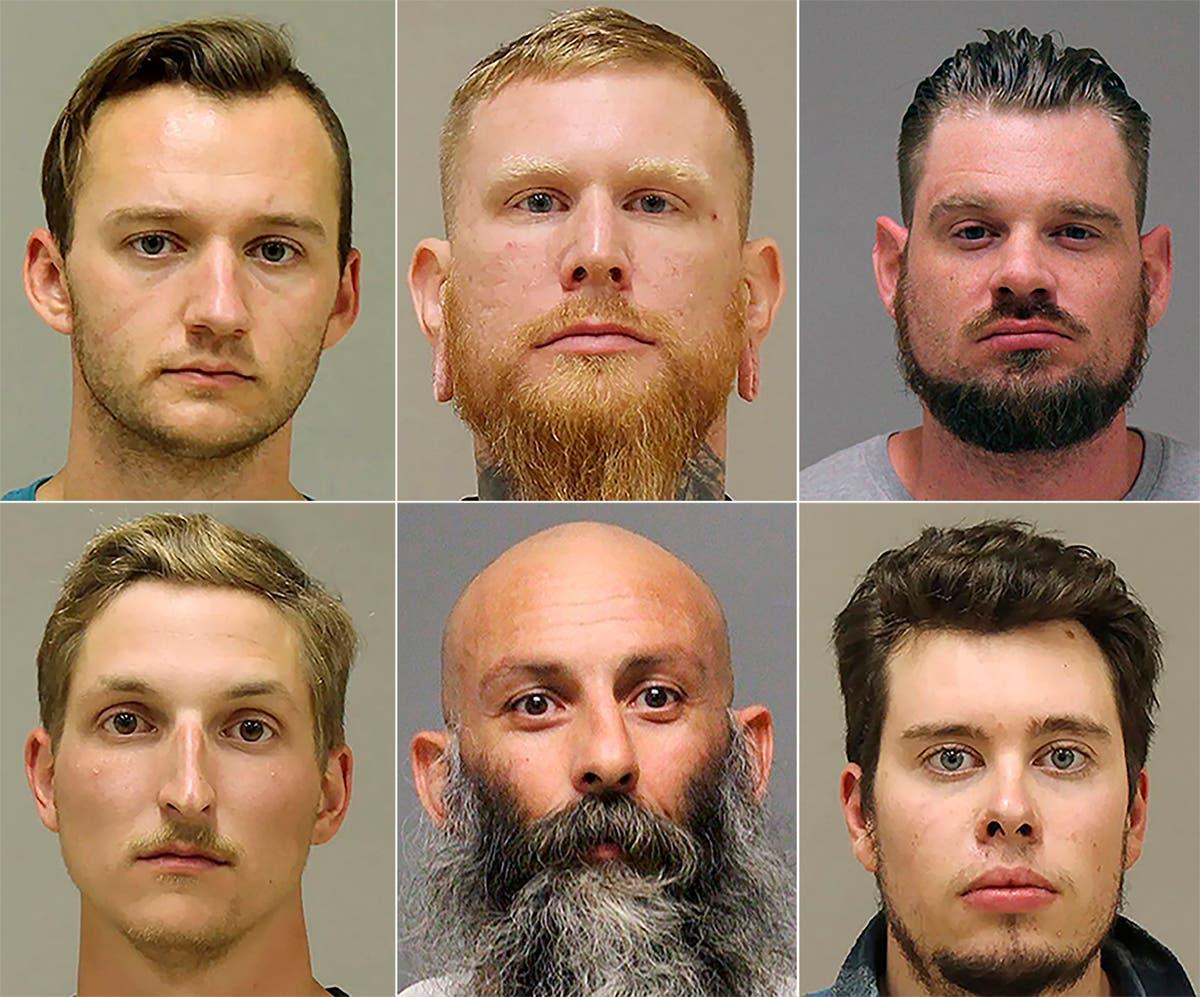 October trial postponed for 5 men in Michigan governor plot