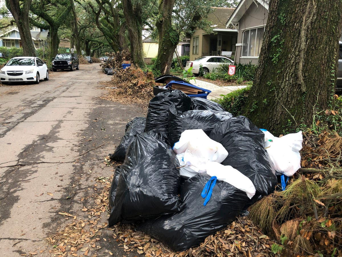After Ida: Mounting trash, rising anger in New Orleans