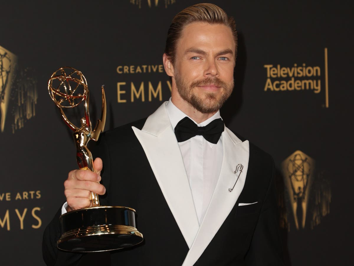 Here's what Derek Hough won an Emmy for in 2021
