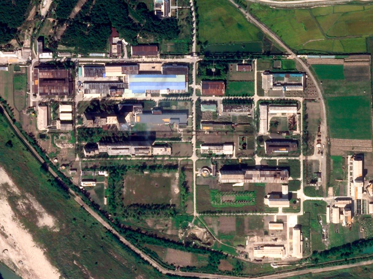 Photos show expansion at North Korea uranium site