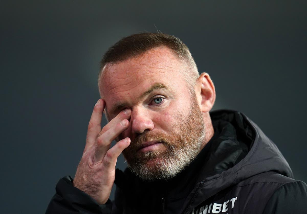 Wayne Rooney discovered Derby set to enter administration on TV