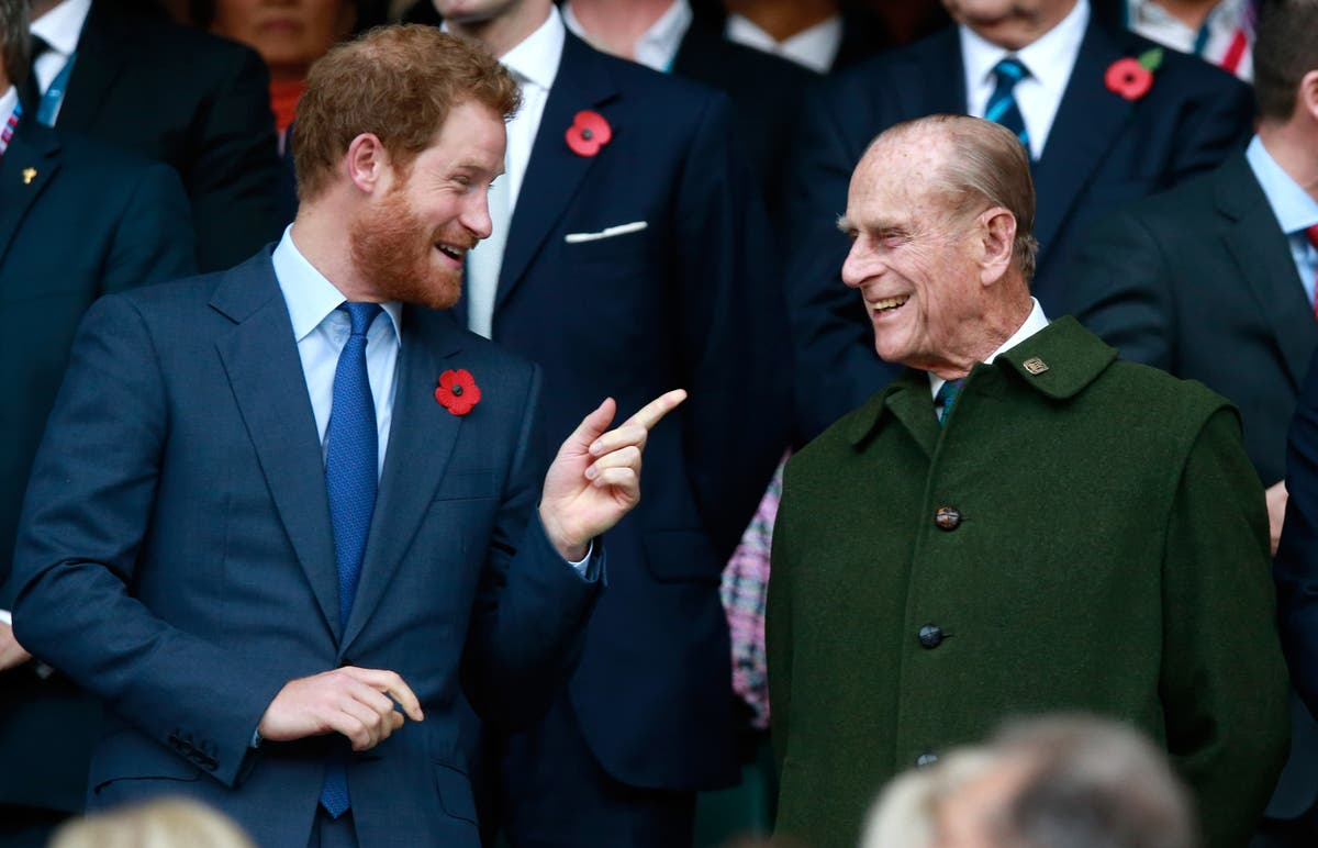 Prince Harry says grandfather Philip was good at listening: 'He would never probe'