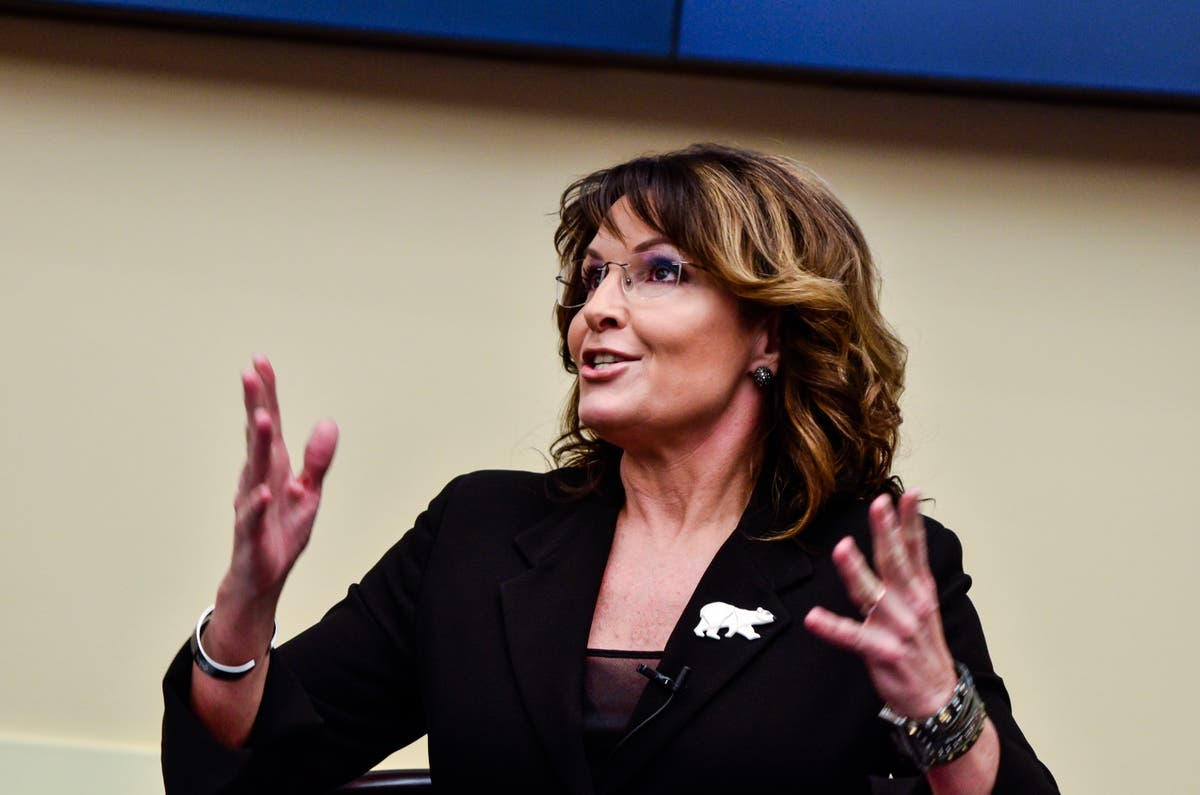 Sarah Palin won't get Covid vaccine, saying previous infection protects her