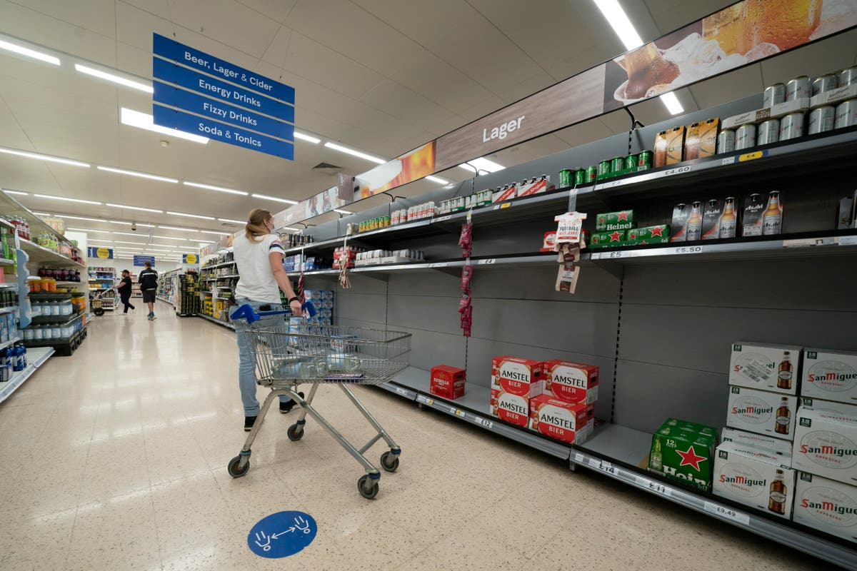 Frozen food and meat shortages loom in carbon dioxide shortage