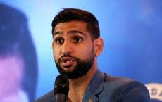 Amir Khan claims police took him off US flight 'for no reason' after mask dispute