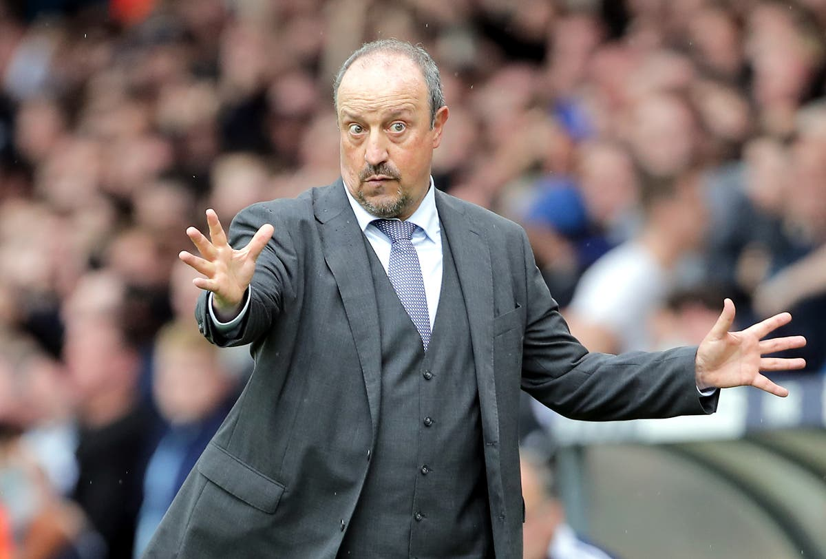 Benitez insists Everton are work in progress after collapse against Aston Villa