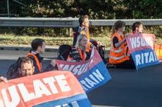 Caroline Lucas backs climate protests blocking M25 because of 'existential crisis'
